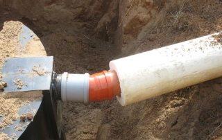 Утепление канализационных труб в грунте