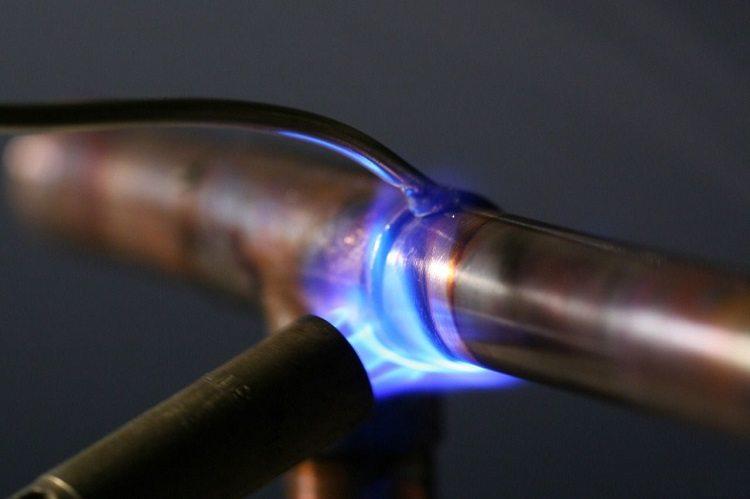 Горелка газовая для пайки медных труб