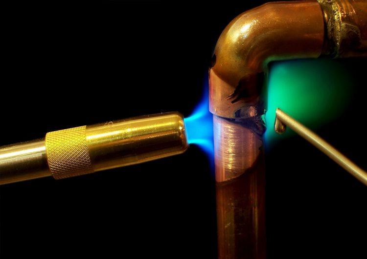 Газовая горелка для пайки