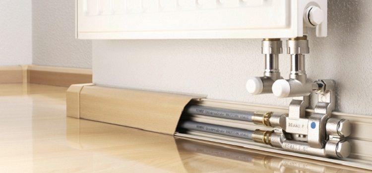 Как эффективно спрятать трубы отопления в квартире либо частном доме