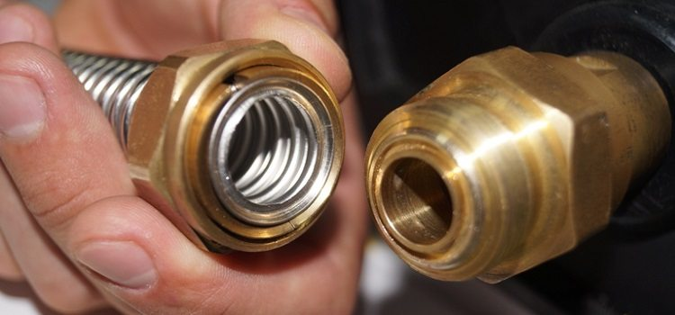Фитинги для гофрированной нержавеющей трубы