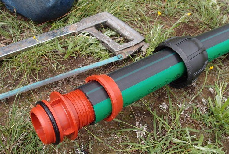 Фитинги компрессионные для полиэтиленовых труб