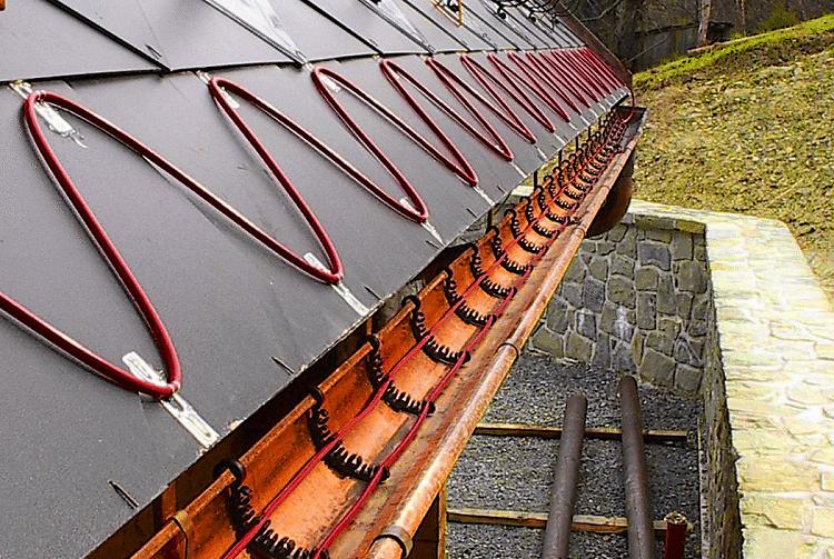 греющий кабель для водосточных труб