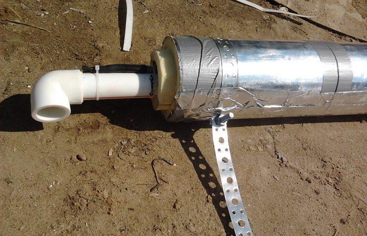 пример упаковки трубы