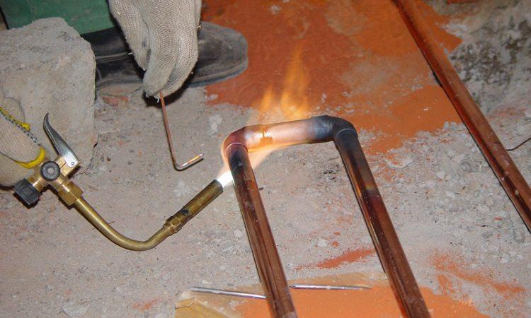 Холодная сварка для труб отопления