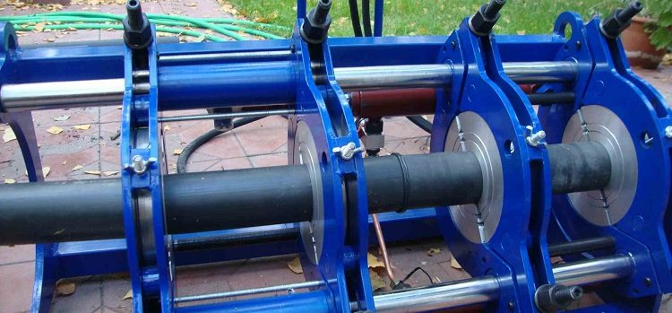 Соединение труб полиэтиленовых