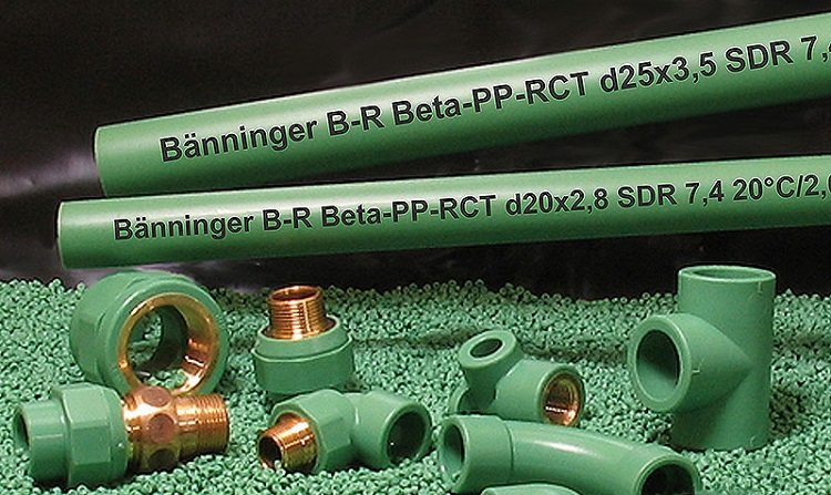 трубы полипропиленовые для водоснабжения