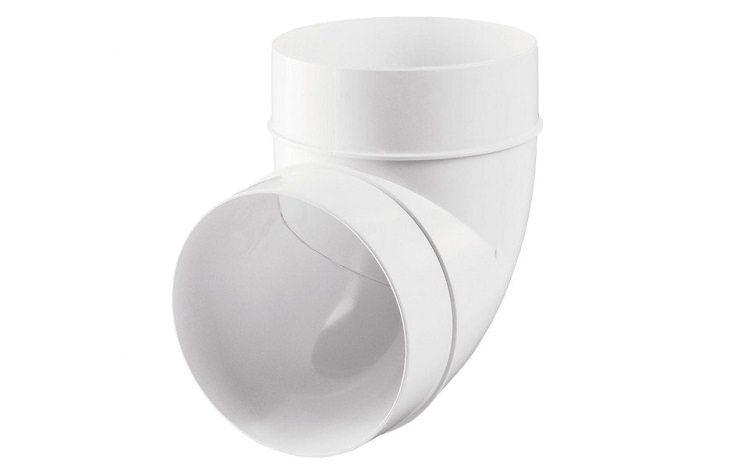 вентиляционные трубы пластиковые для вытяжки
