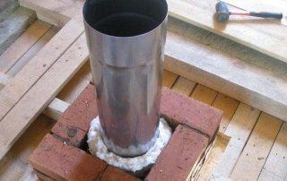 Чем утеплить трубу дымохода металлическую