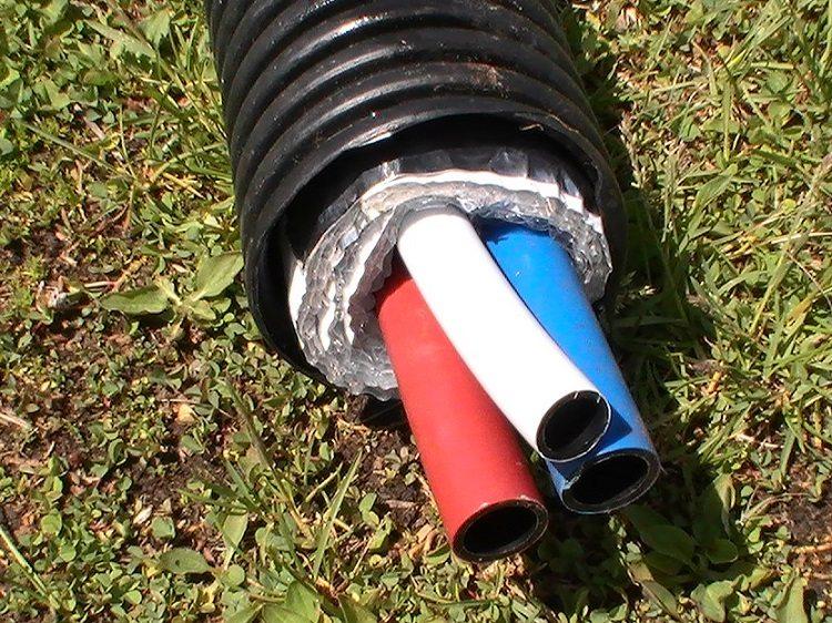 глубина прокладки водопроводных труб