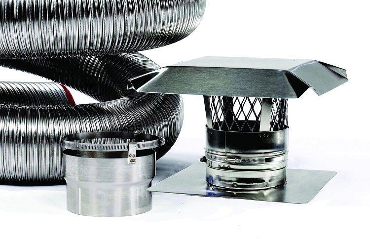 Дымоходы нержавеющая сталь гофрированные саратов схема дымохода для газ колонки