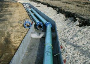 Какую трубу использовать для водопровода под землей