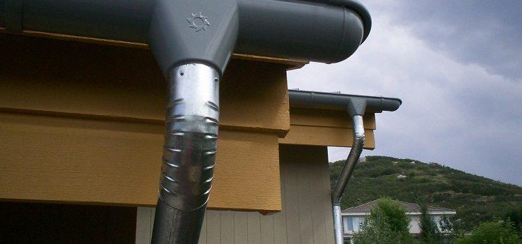 Водосточные трубы из оцинковки