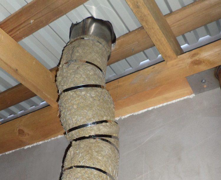 Чем утеплить дымоход при конденсате утеплить труба дымохода газового котла