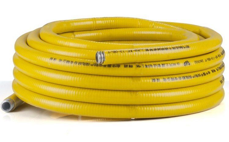 Пластиковая труба для газа