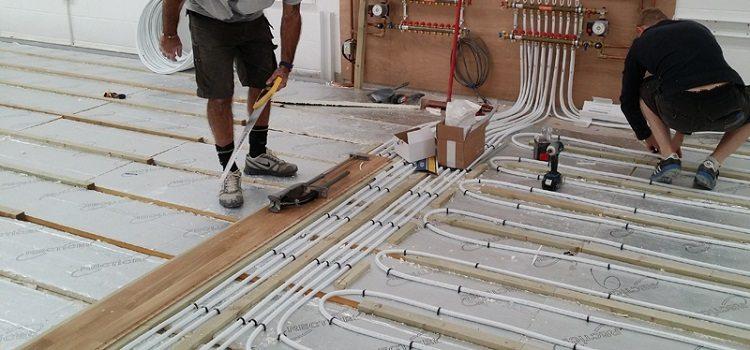 Теплый пол из металлопластиковых труб