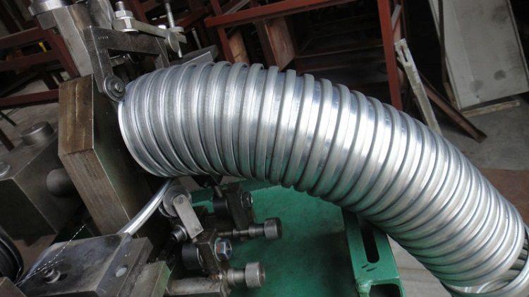 Труба гофрированная нержавеющая сталь
