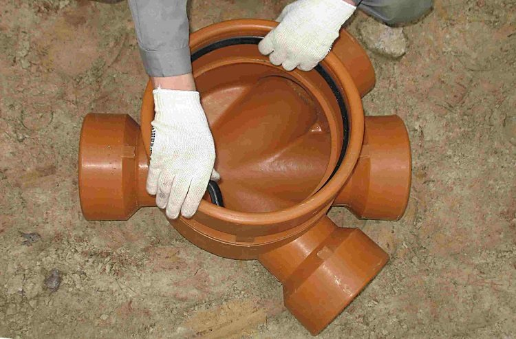 Трубы ПВХ канализационные
