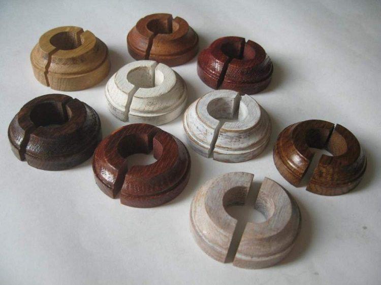 Декоративный короб для труб отопления