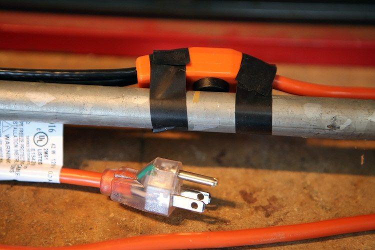 Греющие кабеля сделать своими руками 13