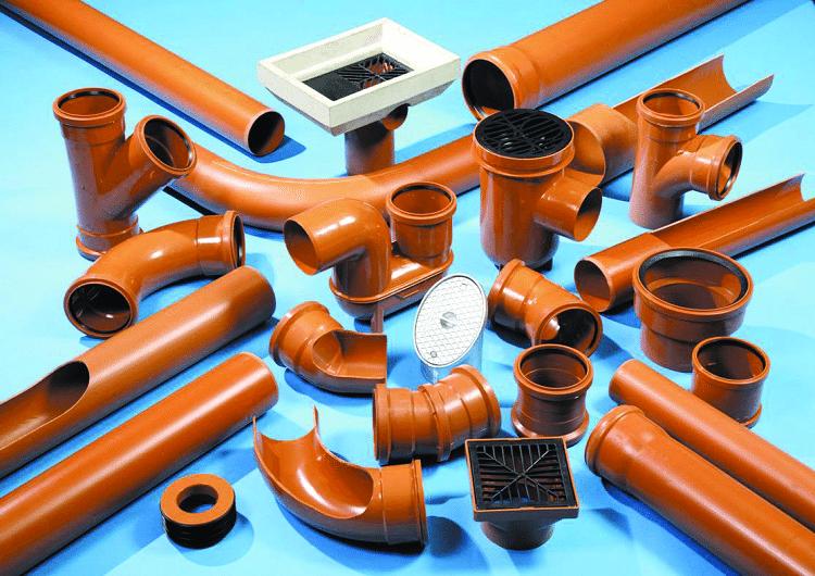 фасонные части канализационных труб пвх размеры