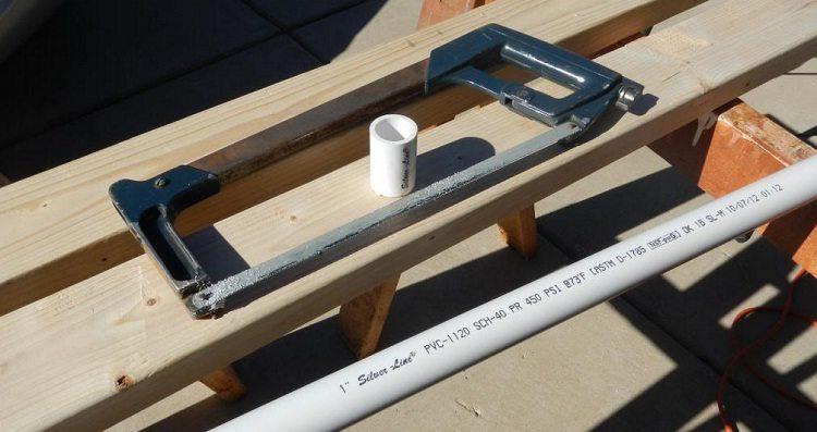 Как сделать лук из ПВХ трубы