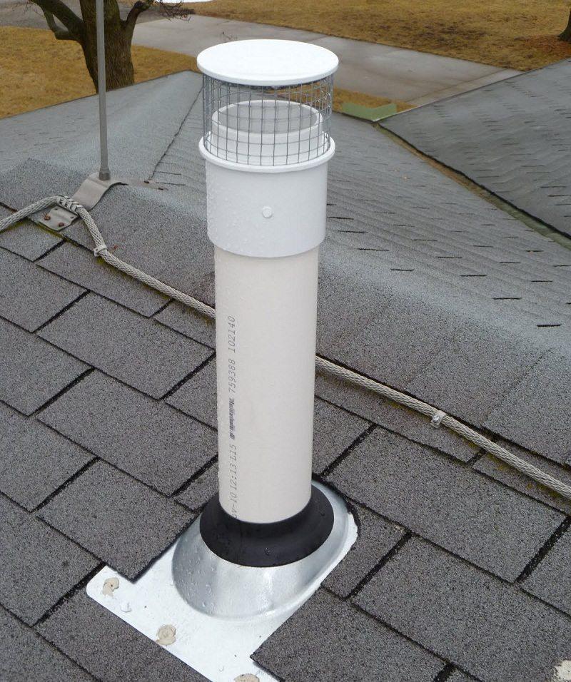 Пластиковые канализационные трубы для создания системы вентиляции своими руками