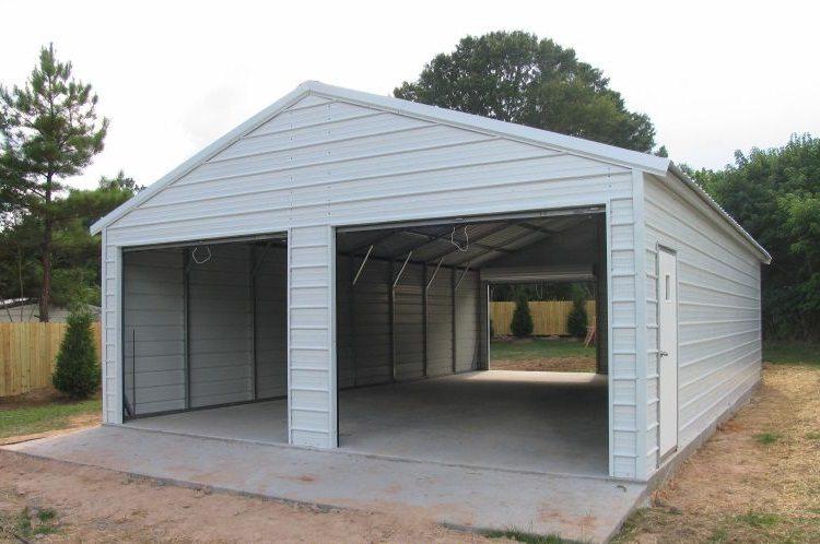 Металлические гараж 2 2