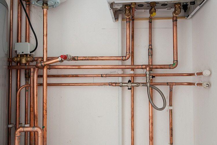 Медные трубы и фитинги для водопровода