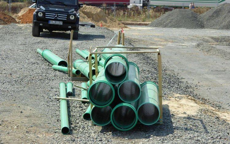 Размеры полипропиленовых труб