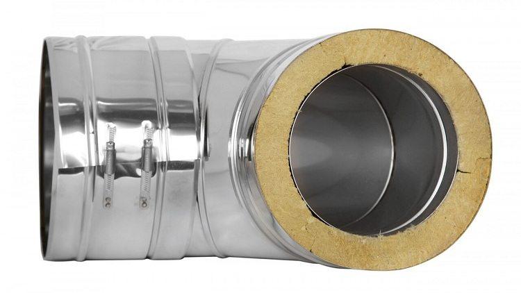 Труба из оцинковки для дымохода