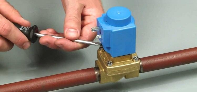 Клапан электромагнитный для воды