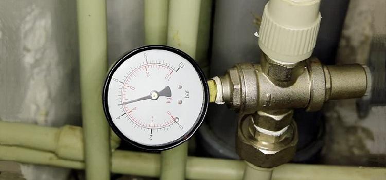 Расчет давления воды в трубопроводе