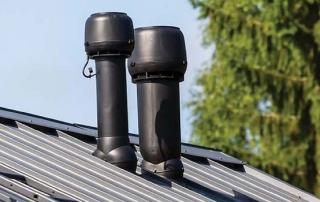 Вентиляционная труба на крышу