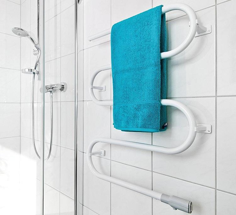 Электрический полотенцесушитель для ванной