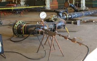 Гидравлические испытания трубопроводов
