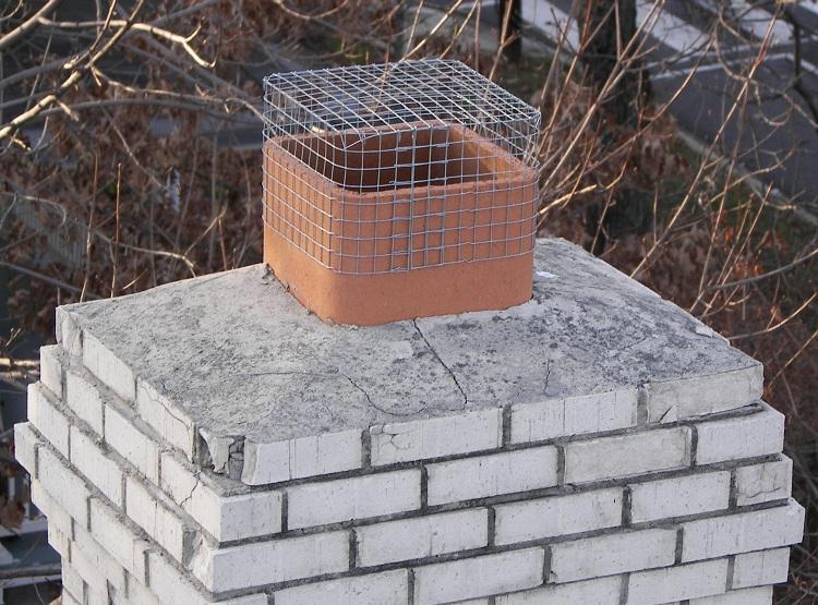 Искрогаситель на дымоход