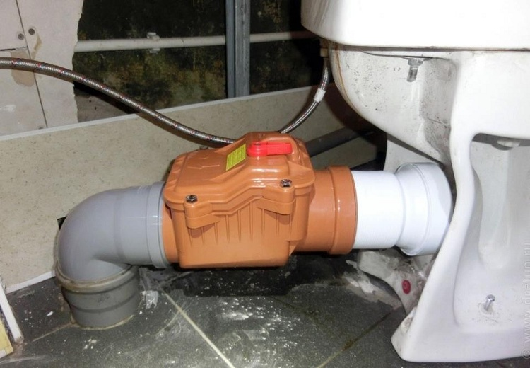 Клапан воздушный канализационный