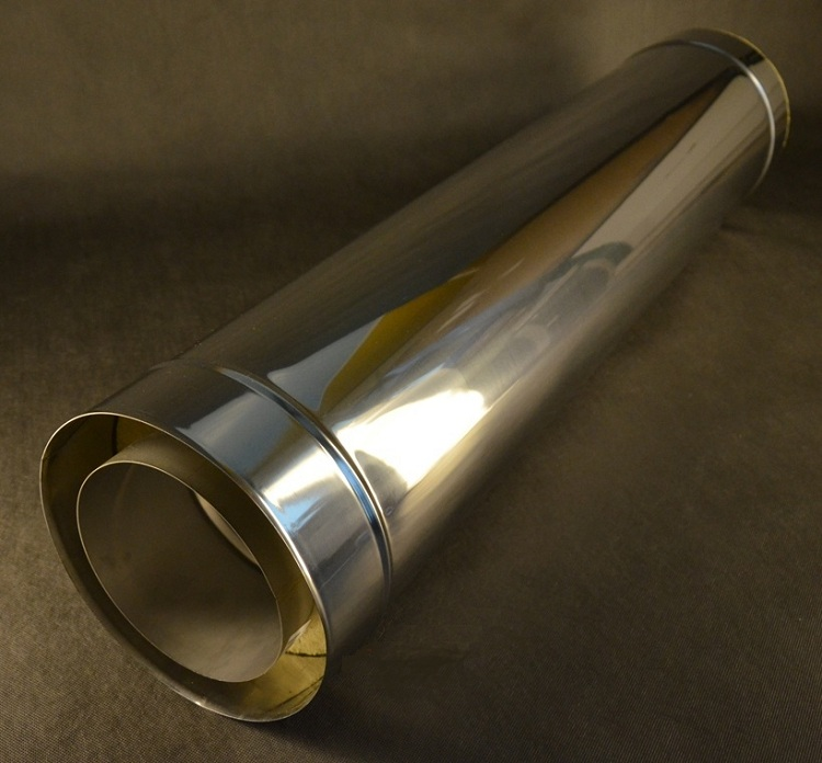 Сэндвич труба для дымохода размеры