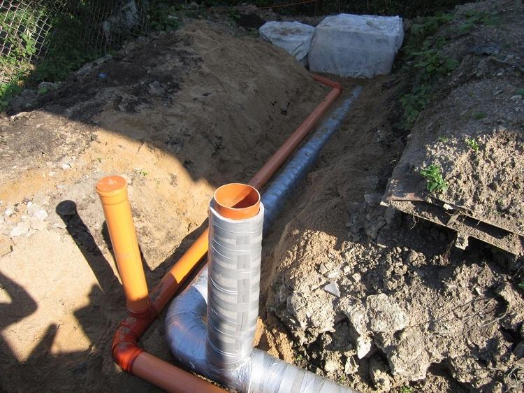 Утеплитель для канализационных труб