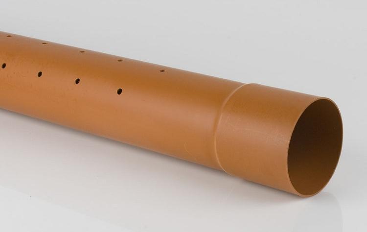 Дренажные трубы с перфорацией