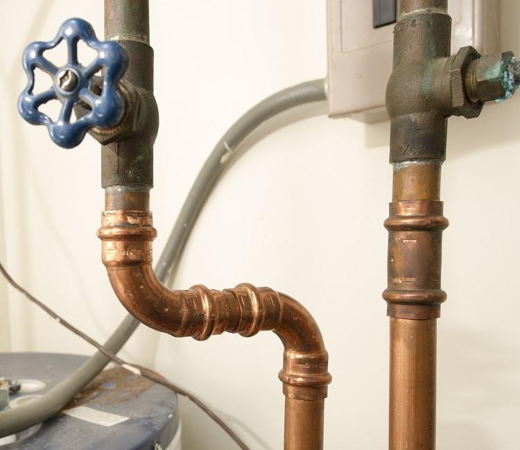 Расчет потребления воды по сечению трубы
