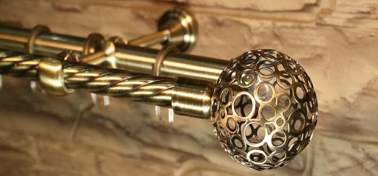 Труба витая декоративная
