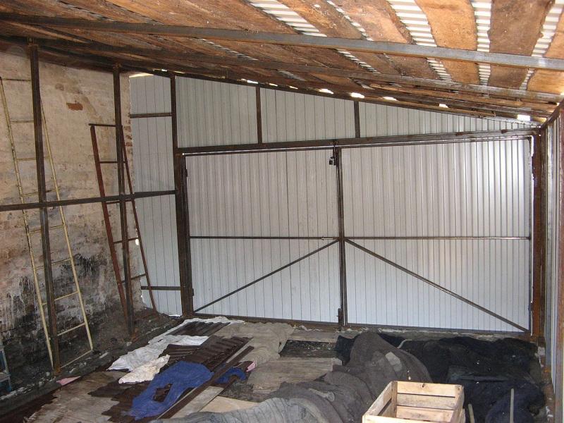 Как с сарая сделать гараж
