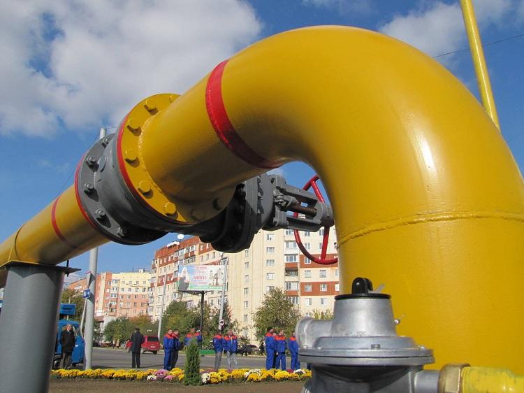 Газовая труба