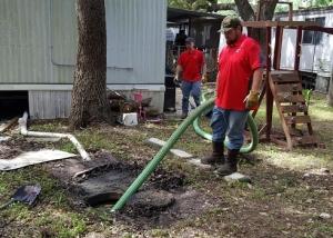 Очистка канализации в частном доме