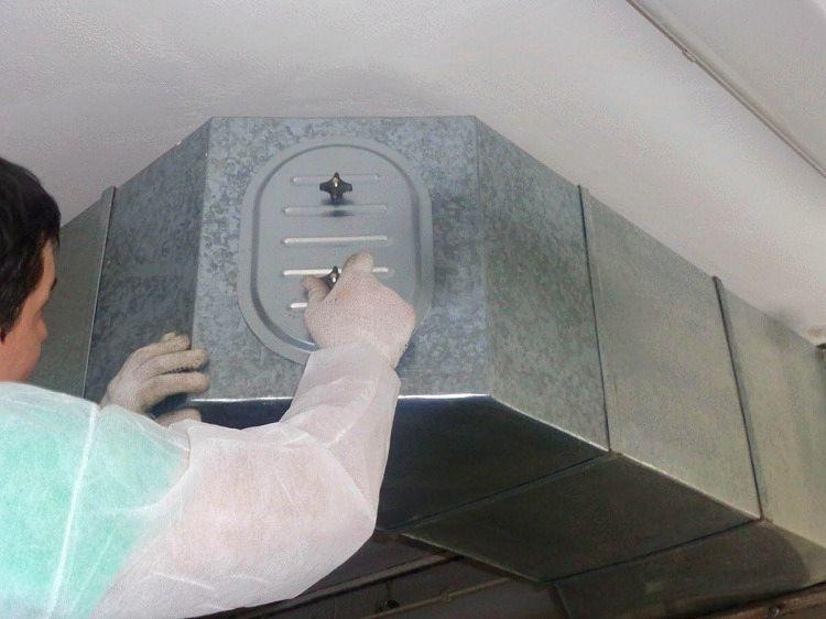 Чистка воздуховодов вентиляции