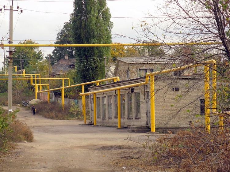 Газовая труба на участке какие ограничения