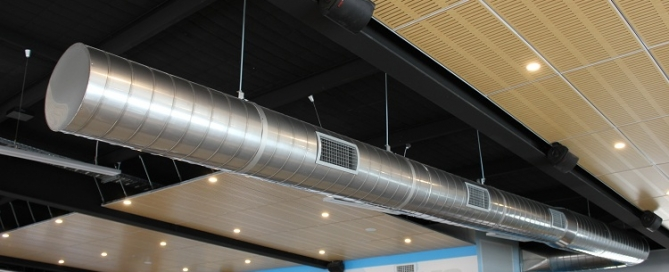 Скорость воздуха в воздуховоде