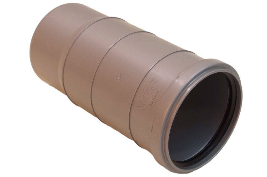 Компенсационный патрубок и другие канализационные фитинги ПВХ